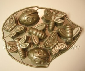 Make it fun, use a bug mold like this from NordicWare