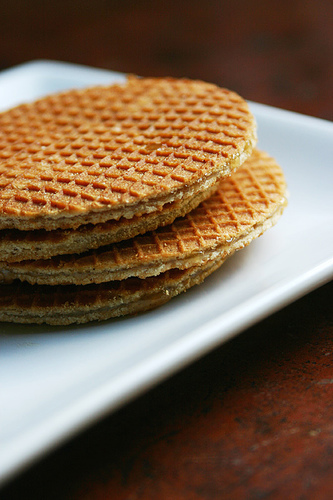 Stroopwaffels: worse for you than your normal waffles.